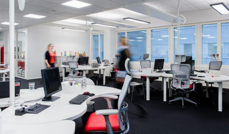 Ketterämpiä toimistotiloja