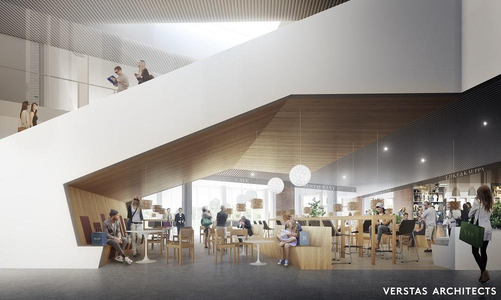 2776 Aalto-yliopiston Uusi Rakennus, Kauppakorkeakoulu ja Metrokeskus - SRV.fi
