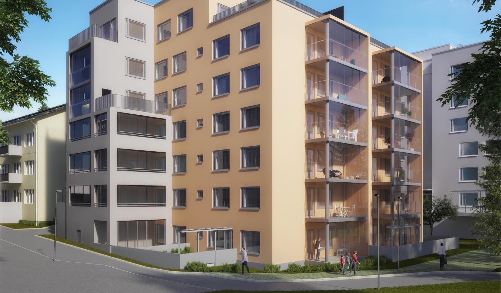 Asumisoikeusasunto Helsinki