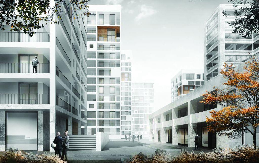 Helsinki Lapinmäentie 1 julkisivu viitesuunnitelma