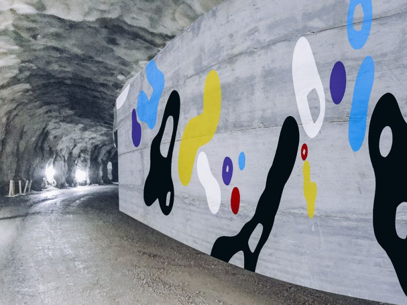 Graffititaiteilija palaa juurilleen: EGS REDIssä