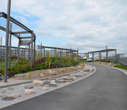 Kauppaksekus REDIn päälle rakennetusta puistosta tuli Bryga