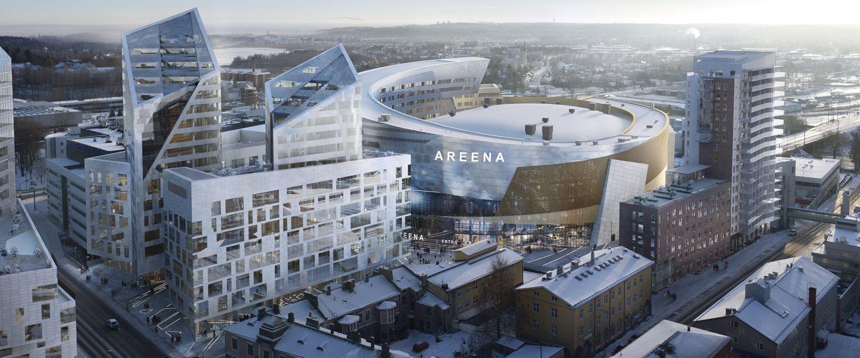 Tampereen Kansi palkittiin merkittävänä infrarakentamisen hankkeena Pirkanmaalla