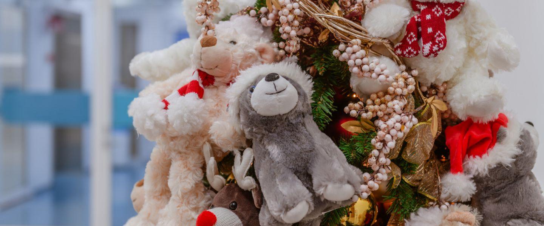 Uusi lastensairaala valmistautuu jouluun