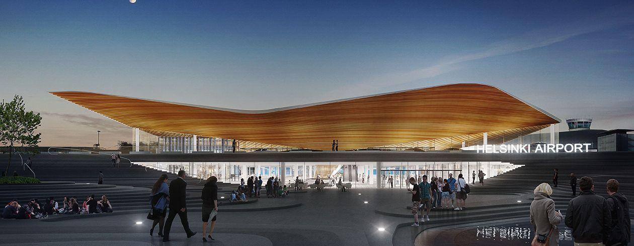 2807 Helsinki-Vantaan lentoaseman terminaalilaajennus – T2
