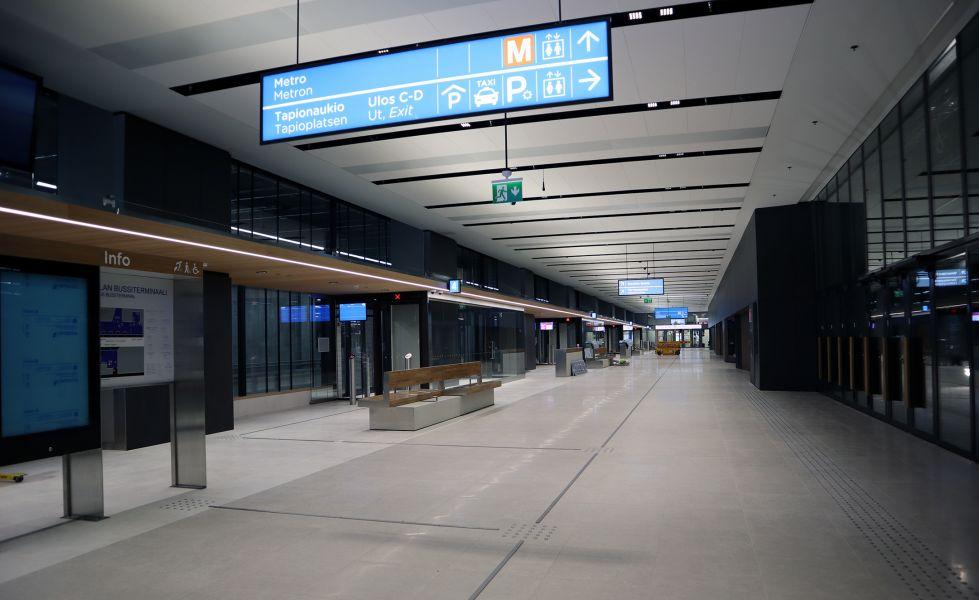 Tapiolan bussiterminaali uudisti eteläisen Espoon liikenneyhteydet kertaheitolla