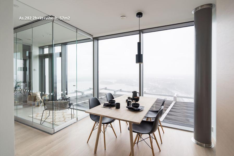 Omakotitalosta torniin — Kalastaman tornien asumisen vaivattomuus houkuttelee