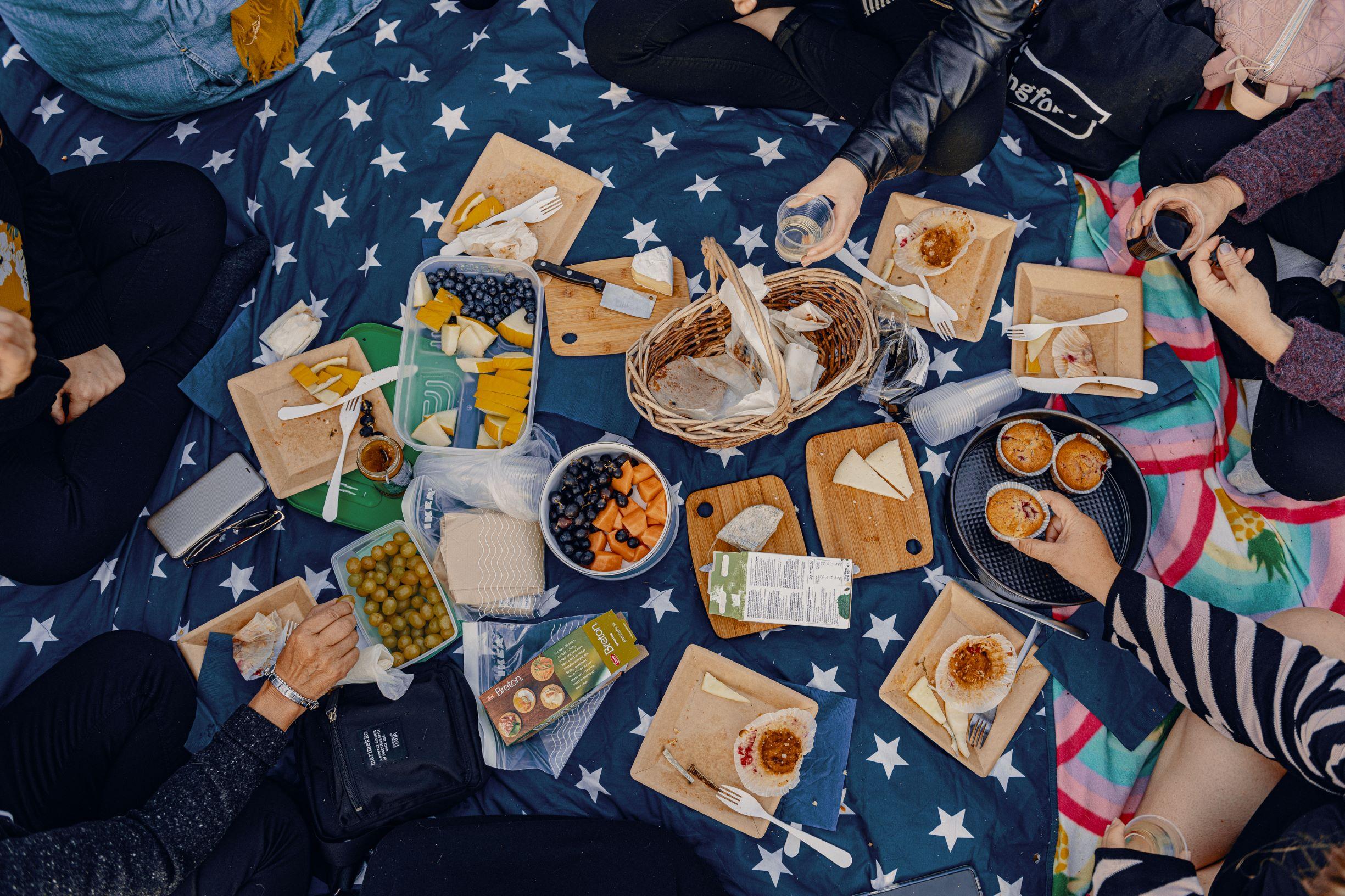 Piknikillä Teurastamolla