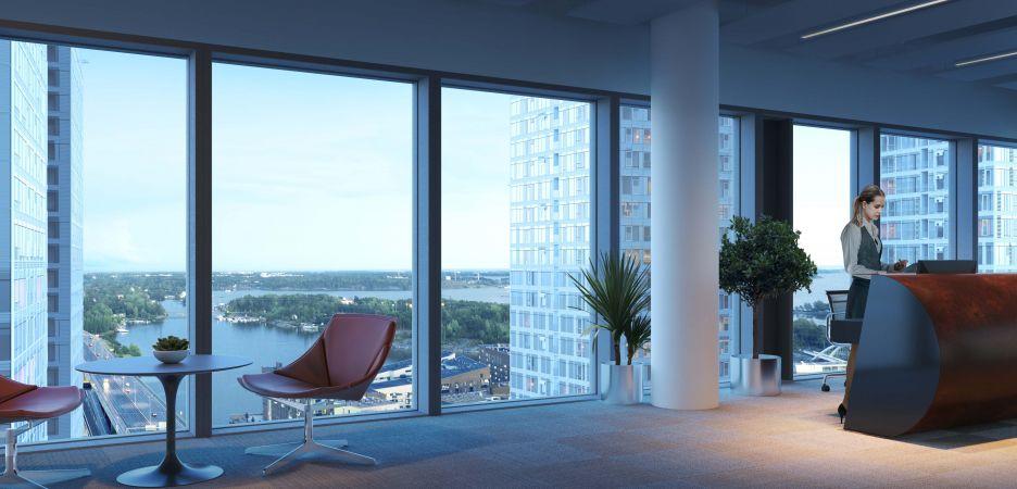 26-kerroksinen Kalasataman Horisontti kohoaa Suomen ensimmäiseksi toimistopilvenpiirtäjäksi