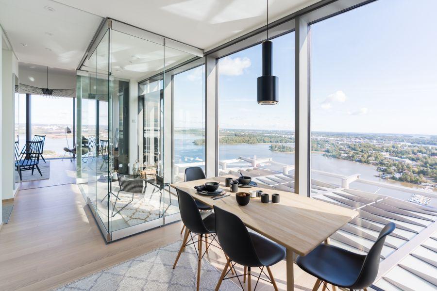 Uusi koti Kalasataman asuintornista  — Majakkaan muuttava Elise arvostaa helppoa asumista
