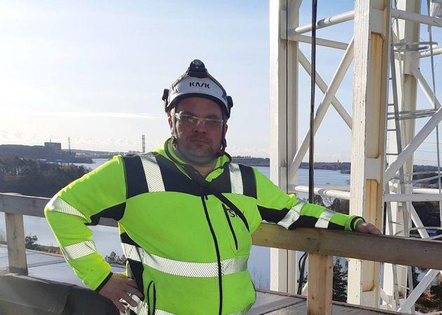 Työsuojelupäällikkö Jari Malmivuori