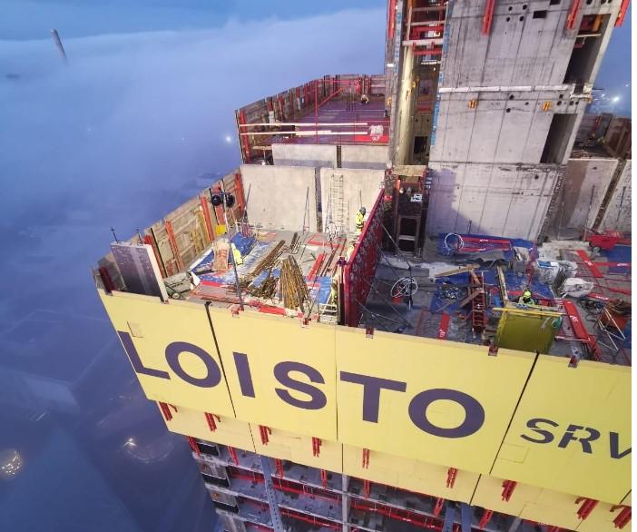 Kalasataman tornien Loisto
