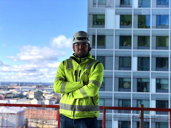 Elias rakentaa Helsingin uutta silhuettia Kalasatamassa