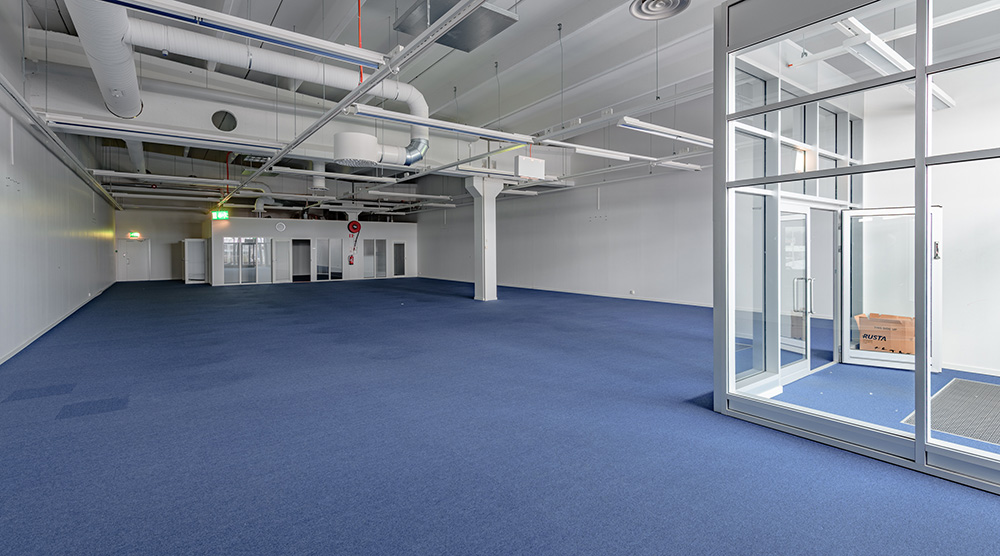 Kuva 401,5 m2 liiketilasta