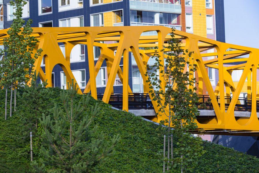 Kaupunkiympäristön monipuolinen hyödyntäminen rakentamisessa edistää luonnon monimuotoisuutta