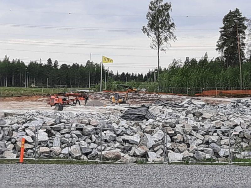 Ojangon bussivarikkoa Vantaalla rakennetaan ympäristön ehdoilla