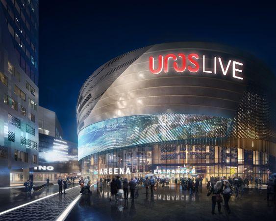 Joulukuussa 2021 valmistuva areena tarjoaa elämyksiä ja parhaat puitteet tapahtumille.
