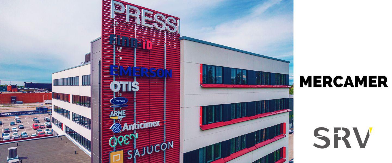 Tule meille naapuriksi! Mercamer valitsi uudeksi toimitilakseen Vantaankosken Pressin