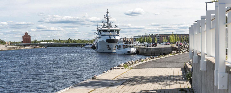 Toppilansalmesta on kasvamassa Oulun merellinen viihtymiskeskus